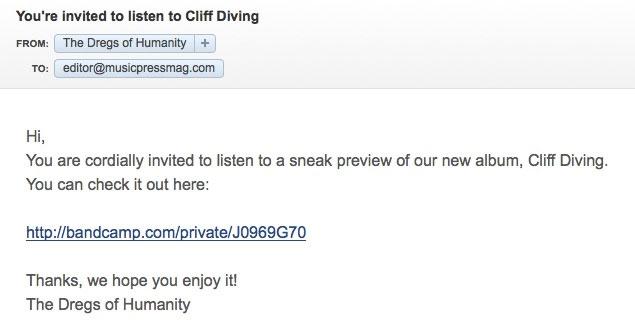 private streaming invite